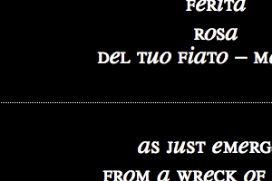 Nascita – Felice Serino