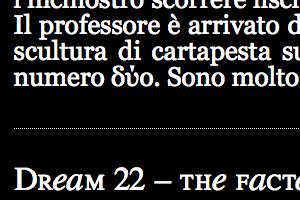 Sogno 22 – Bestiario